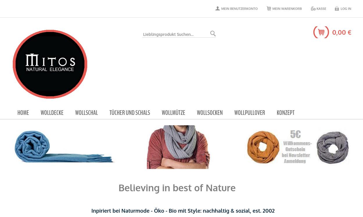 mitos.com.de - Natürliche Eleganz aus Luxusfasern