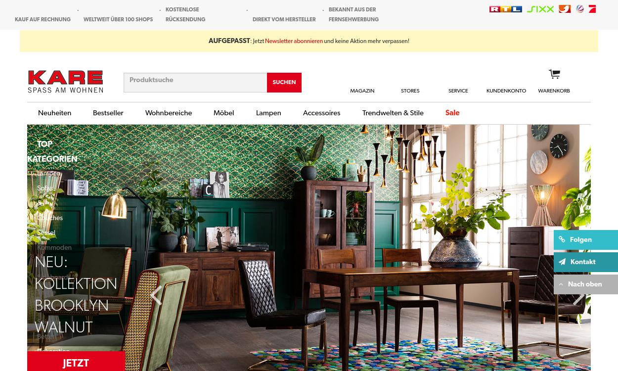 KARE.DE - Designmöbel & Accessoires