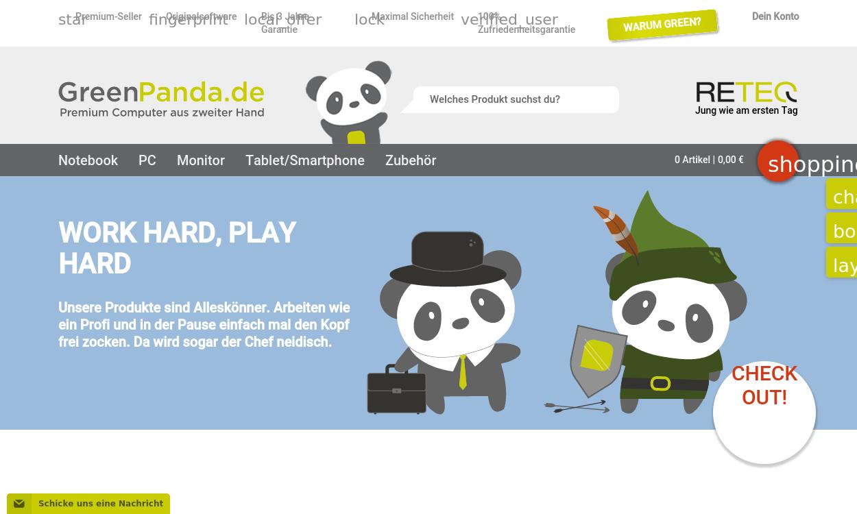Greenpanda.de - Premium Computer aus 2. Hand