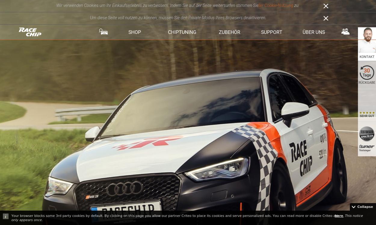 Racechip.de Chiptuning und Motortuning