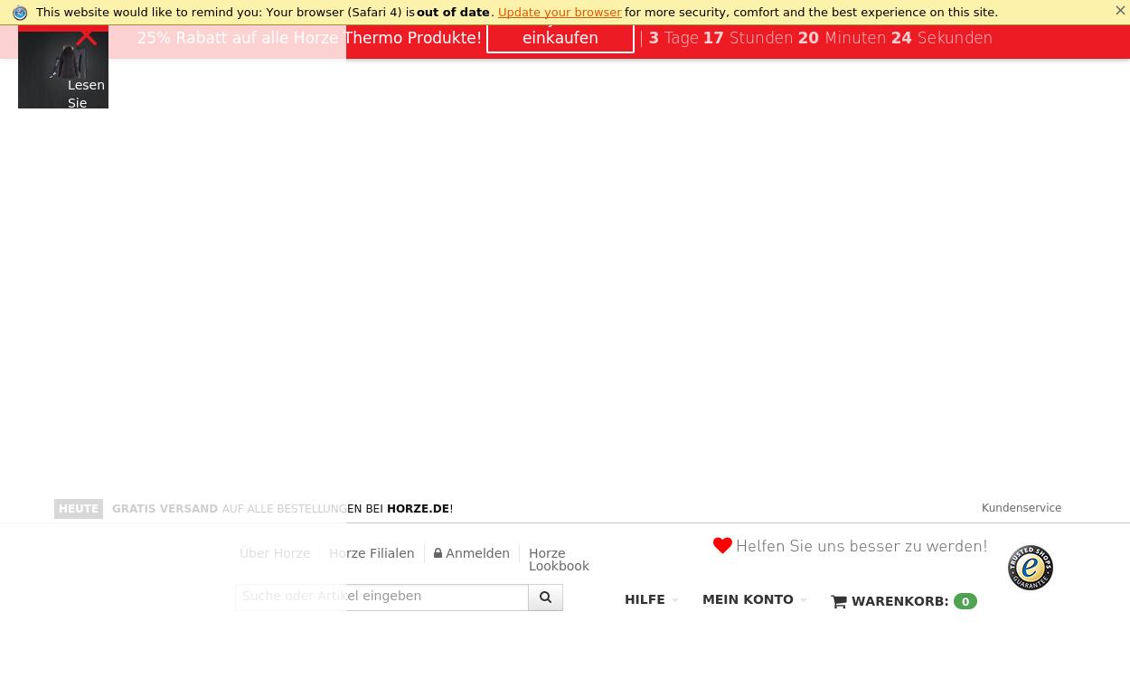 Reitsportartikel Online Shop - Horze.de