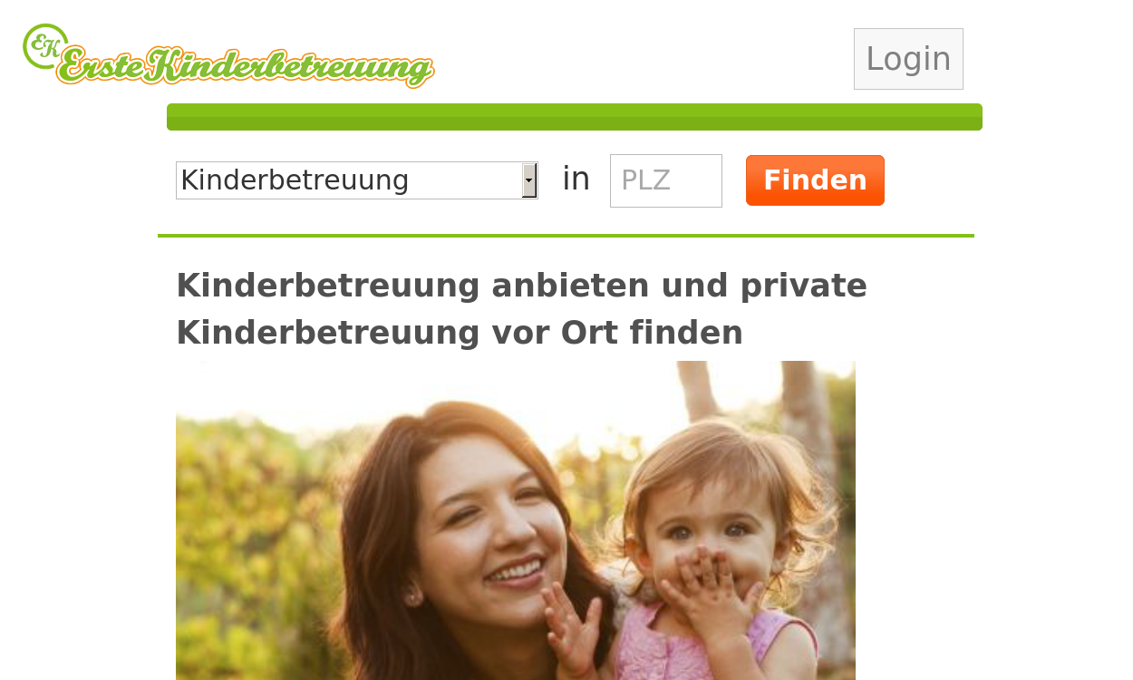 ErsteKinderbetreuung.de