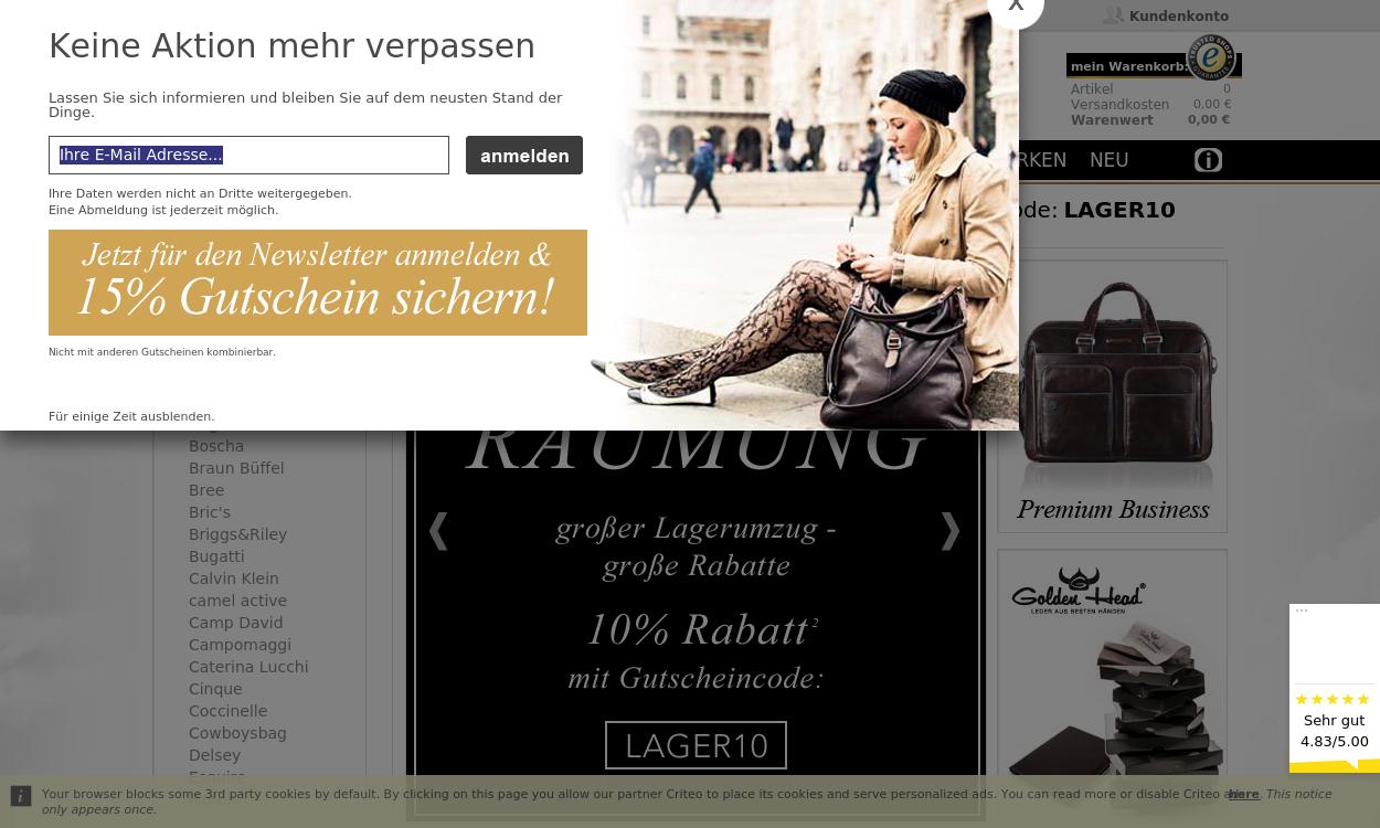 PREMIUM-MALL - Taschen & Accessoires online