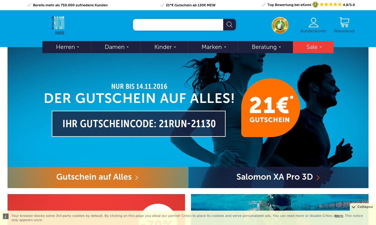 21RUN.COM - Von Läufern für Läufer