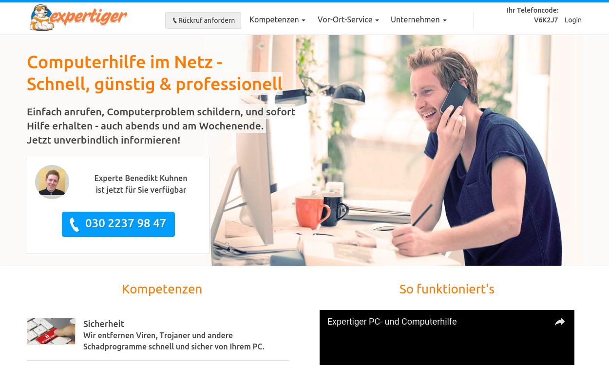 expertiger- Sofort-Hilfe für Computer und Internet