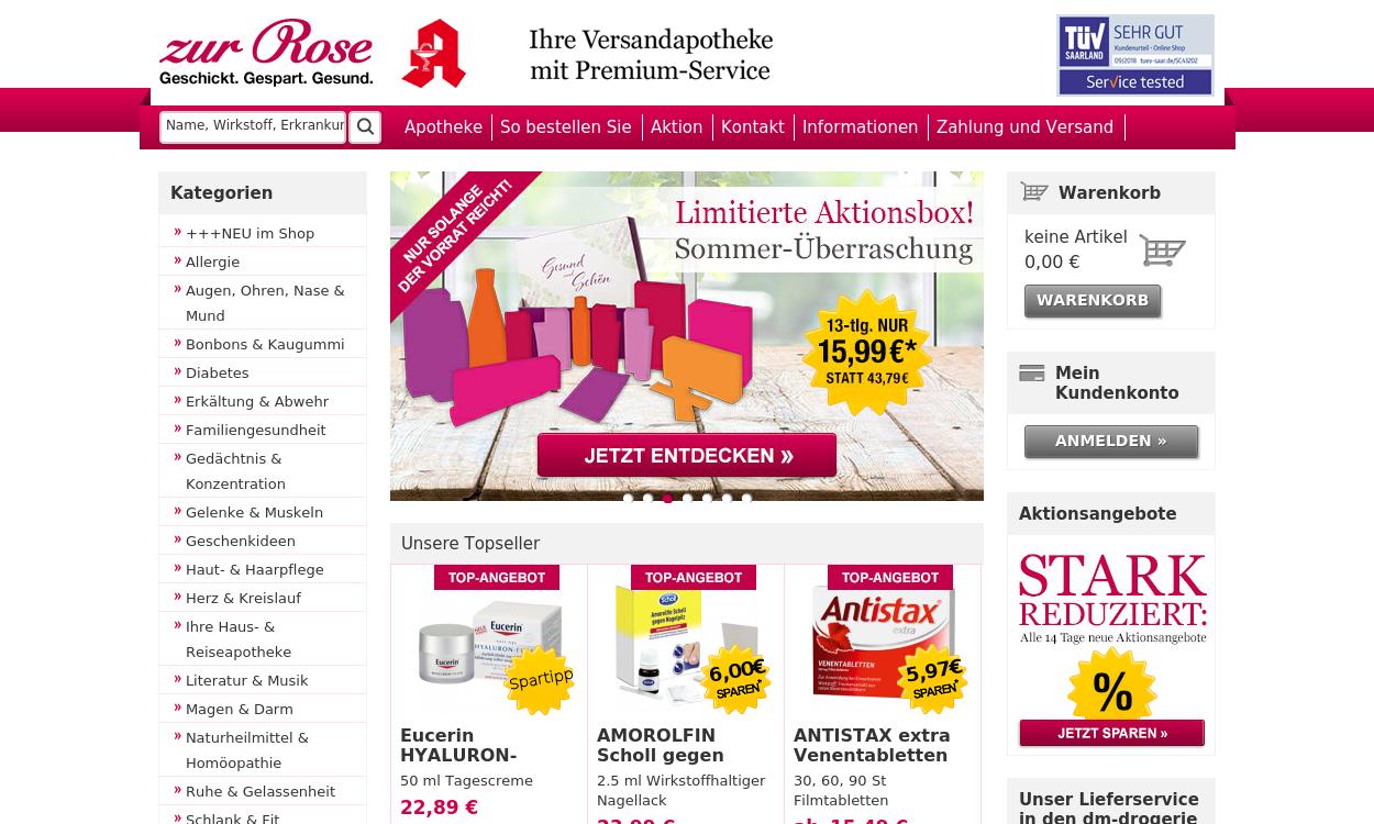 Zur Rose Versandapotheke DE