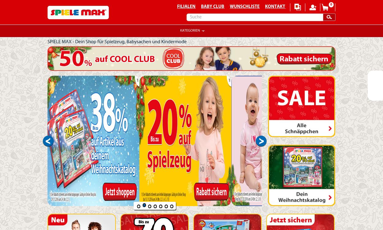 Spiele Max - Spielzeug, Babyartikel & Kindermode
