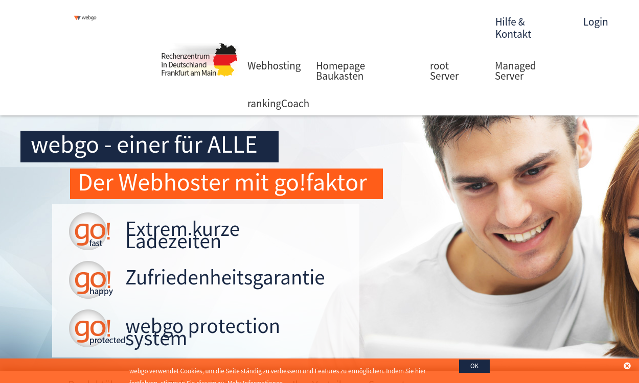 webgo.de - Webspace, Domains und Server