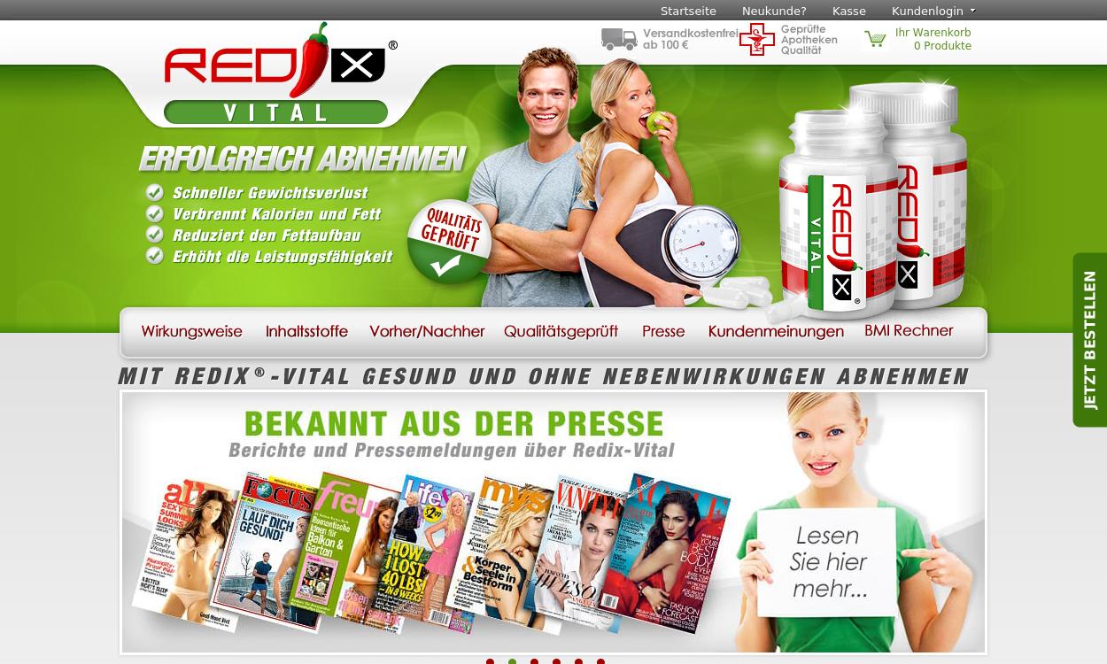 Redix-vital.de - Diät & Nahrungsergänzung