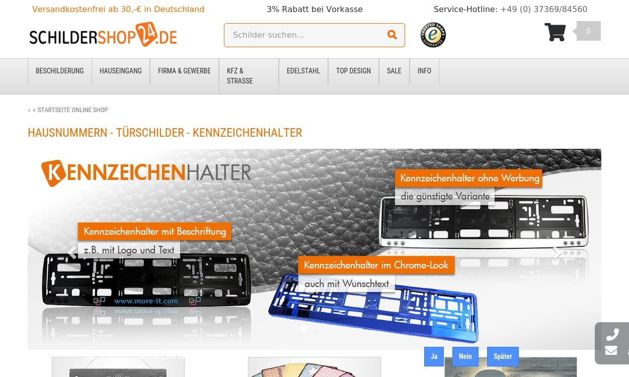 Schildershop24 DE
