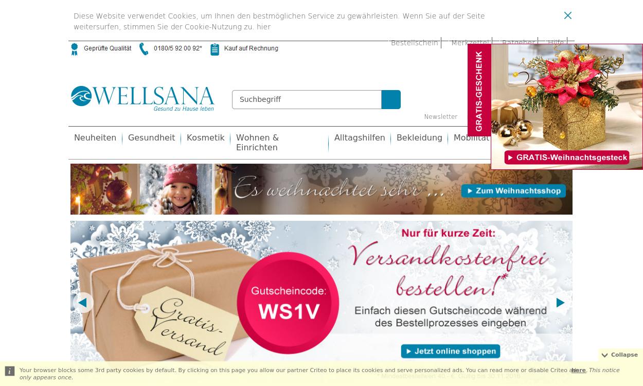 Wellsana.de – Ihr Sanitätshaus online!
