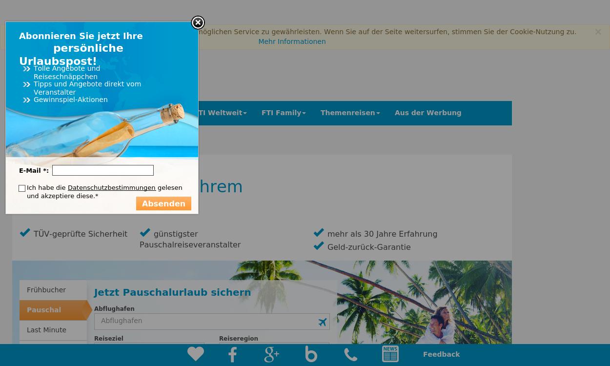 FTI – Ihr Reiseveranstalter für Urlaub & Reisen!