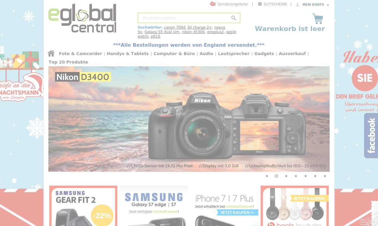 eGlobal Central Germany - Elektromarkt