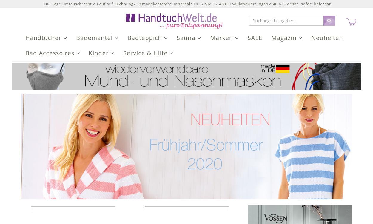 Handtuch-Welt DE