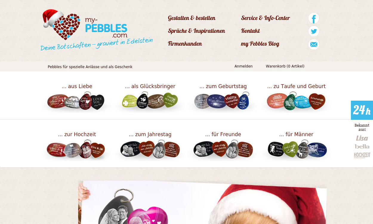 My-Pebbles.com DE