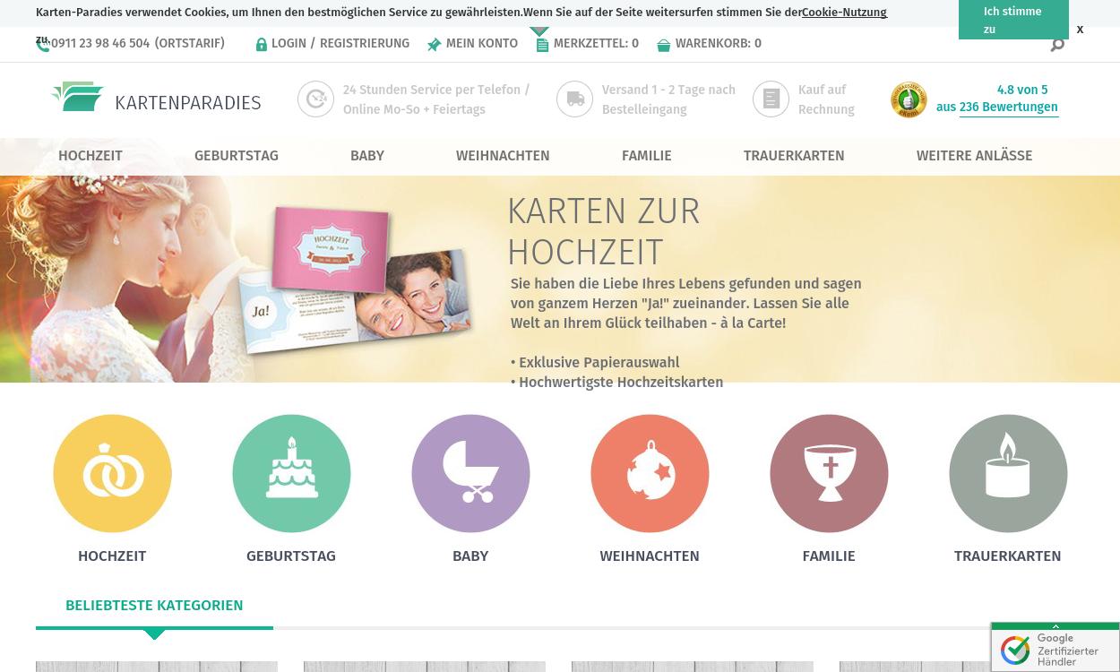 Karten-paradies.de-Einladungskarten selbst gemacht
