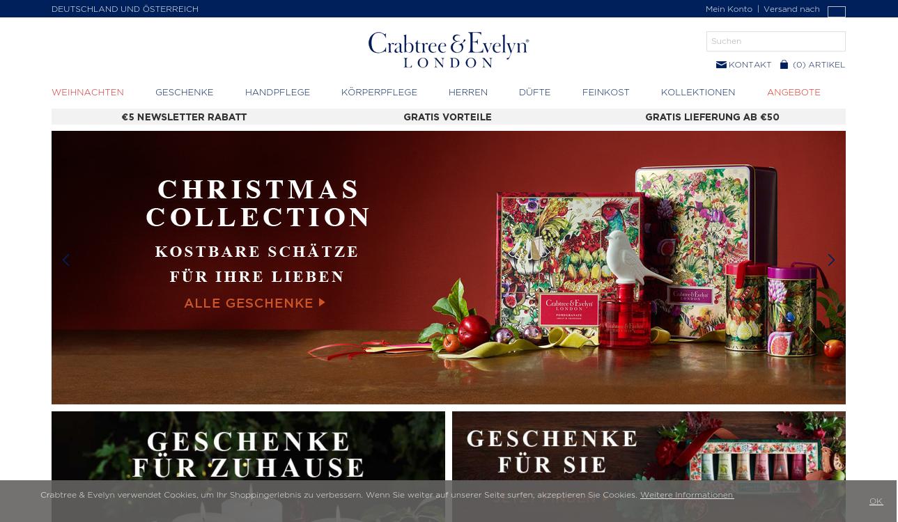 Crabtree-Evelyn.de - Offizieller Onlineshop