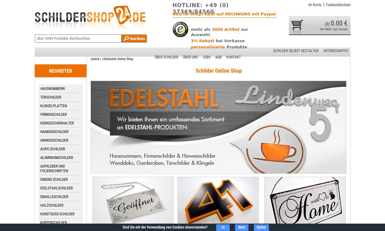 Schildershop24.de