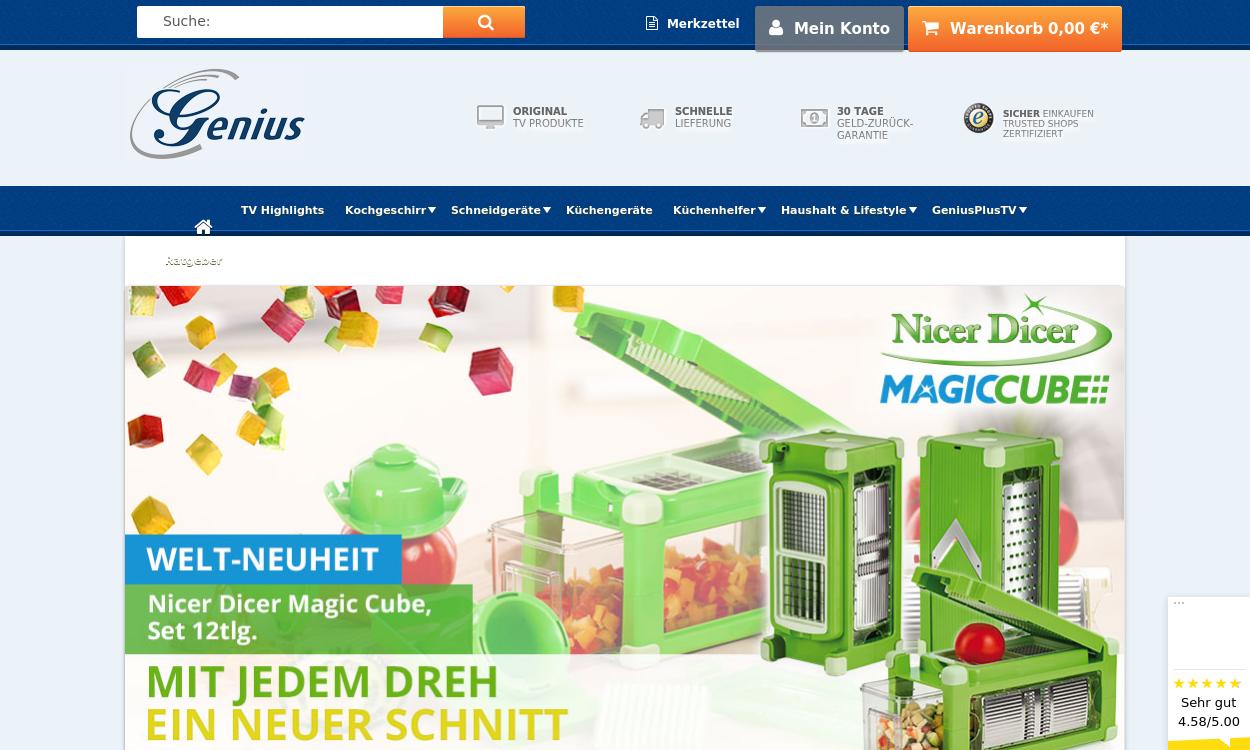 genius.tv - Geniale Helfer für Küche und Haushalt!