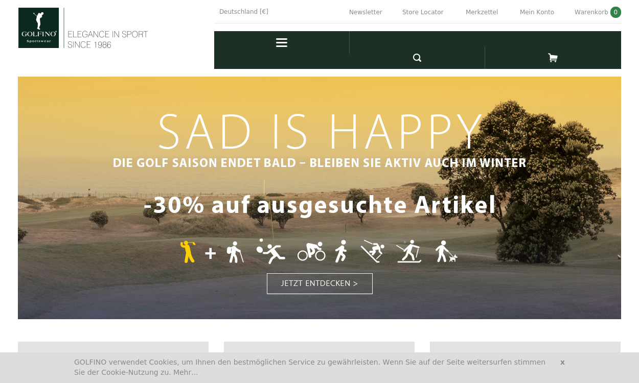 Golfino Elegance in Sport (Saleskampagne)