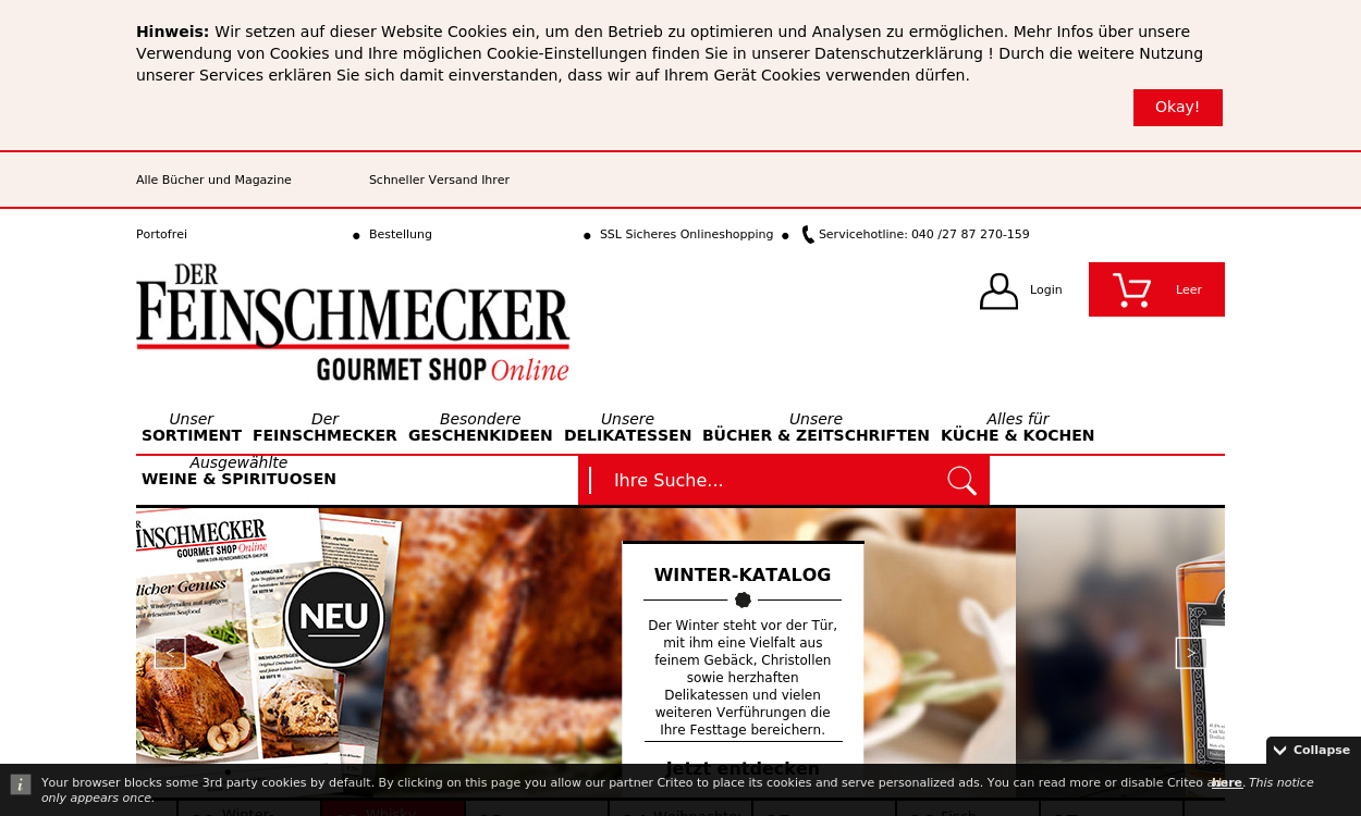 Der Feinschmecker Gourmet Shop