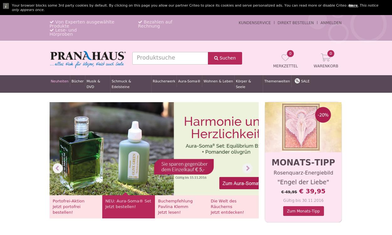 Pranahaus.de - Esoterik Shop