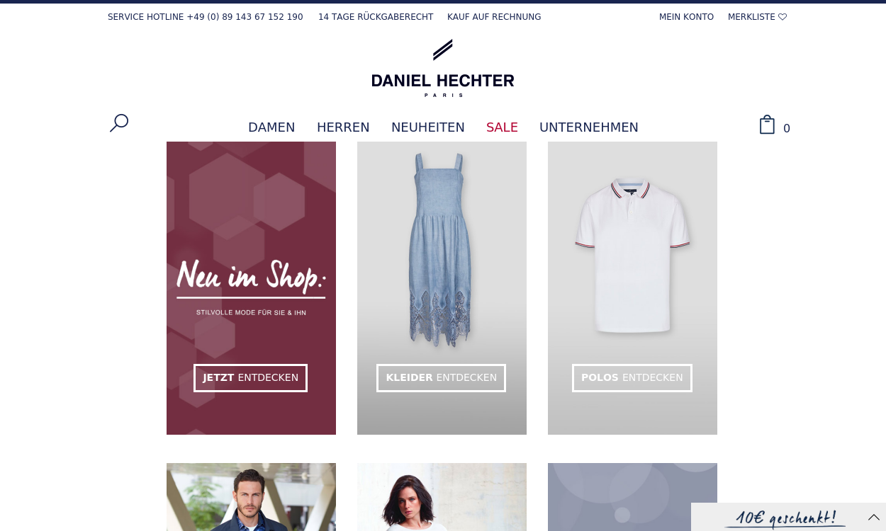 Daniel Hechter Onlineshop- migrated