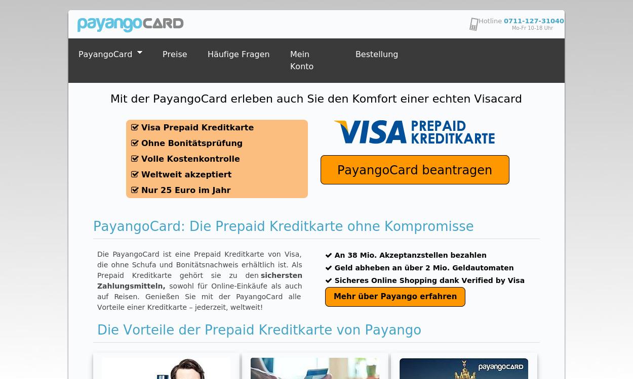 PAYANGO die Prepaid Visa Cards der LBBW
