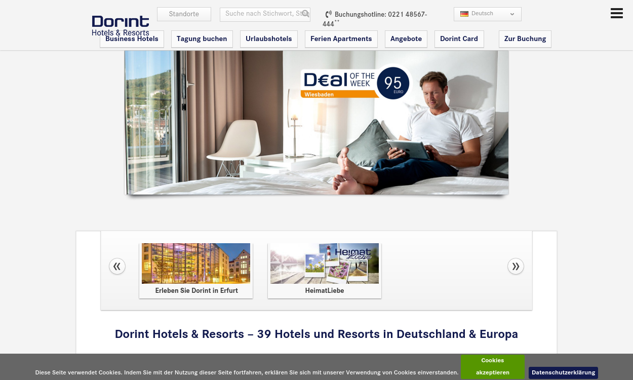 Dorint Hotels & Resorts - Sie werden wiederkommen