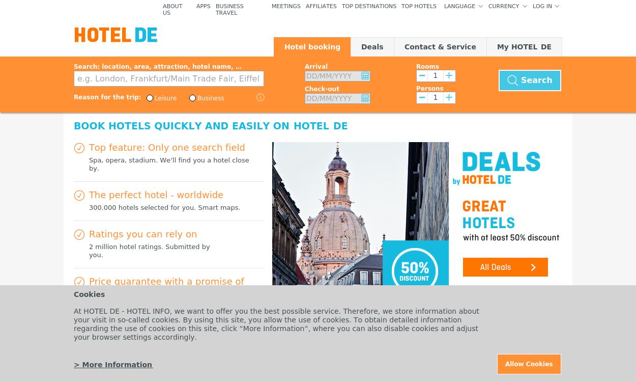 Hotel.de DE/AT