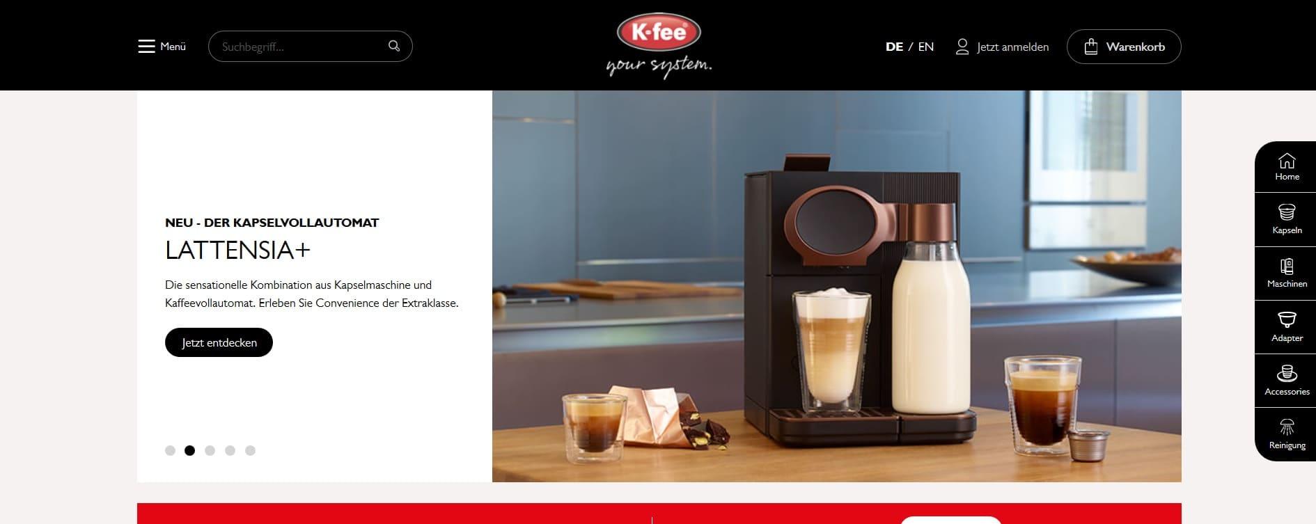 K-fee DE