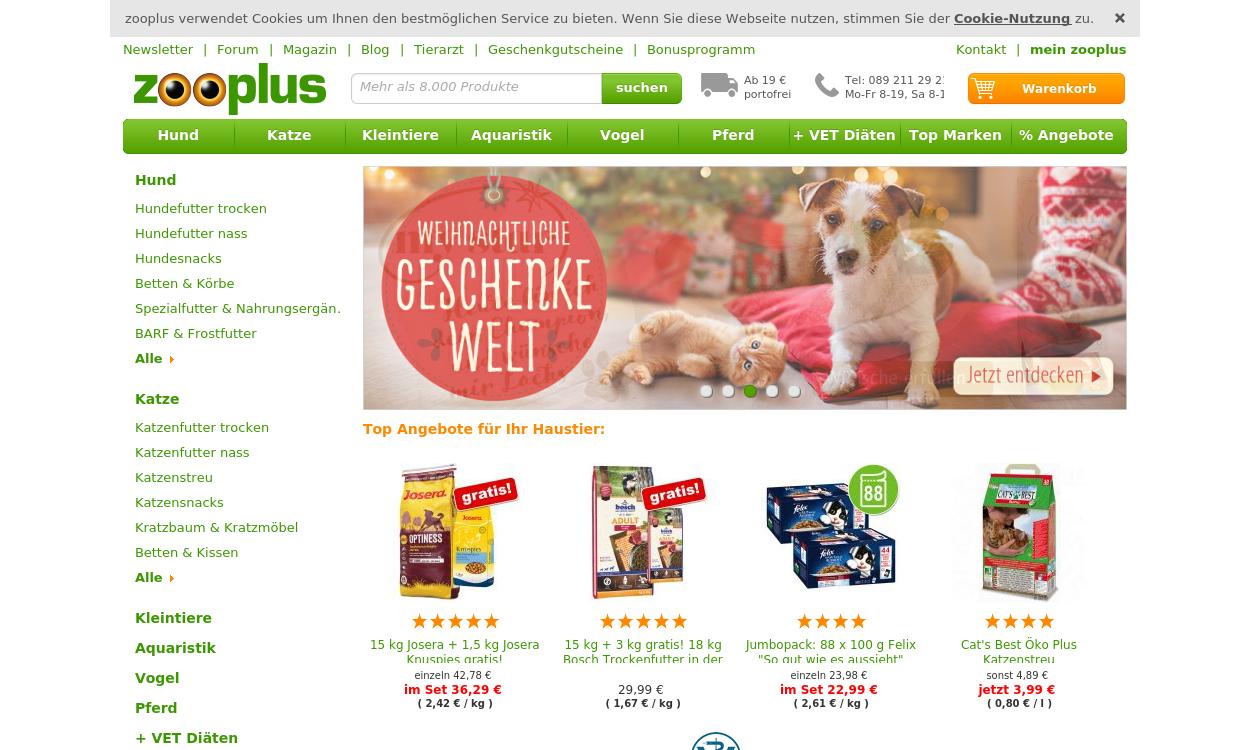 zooplus.de - Mein Haustiershop