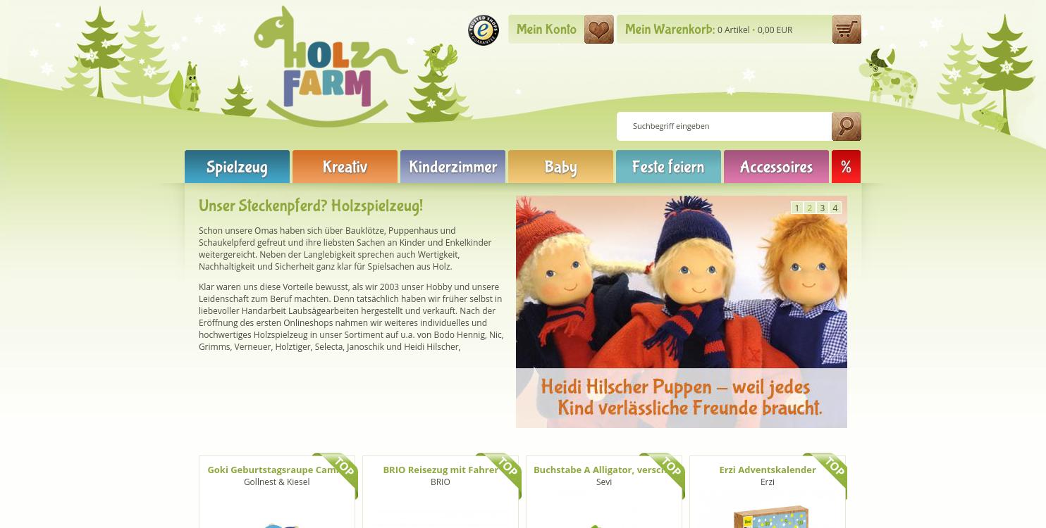 Holzfarm.de - kreatives Holzspielzeug