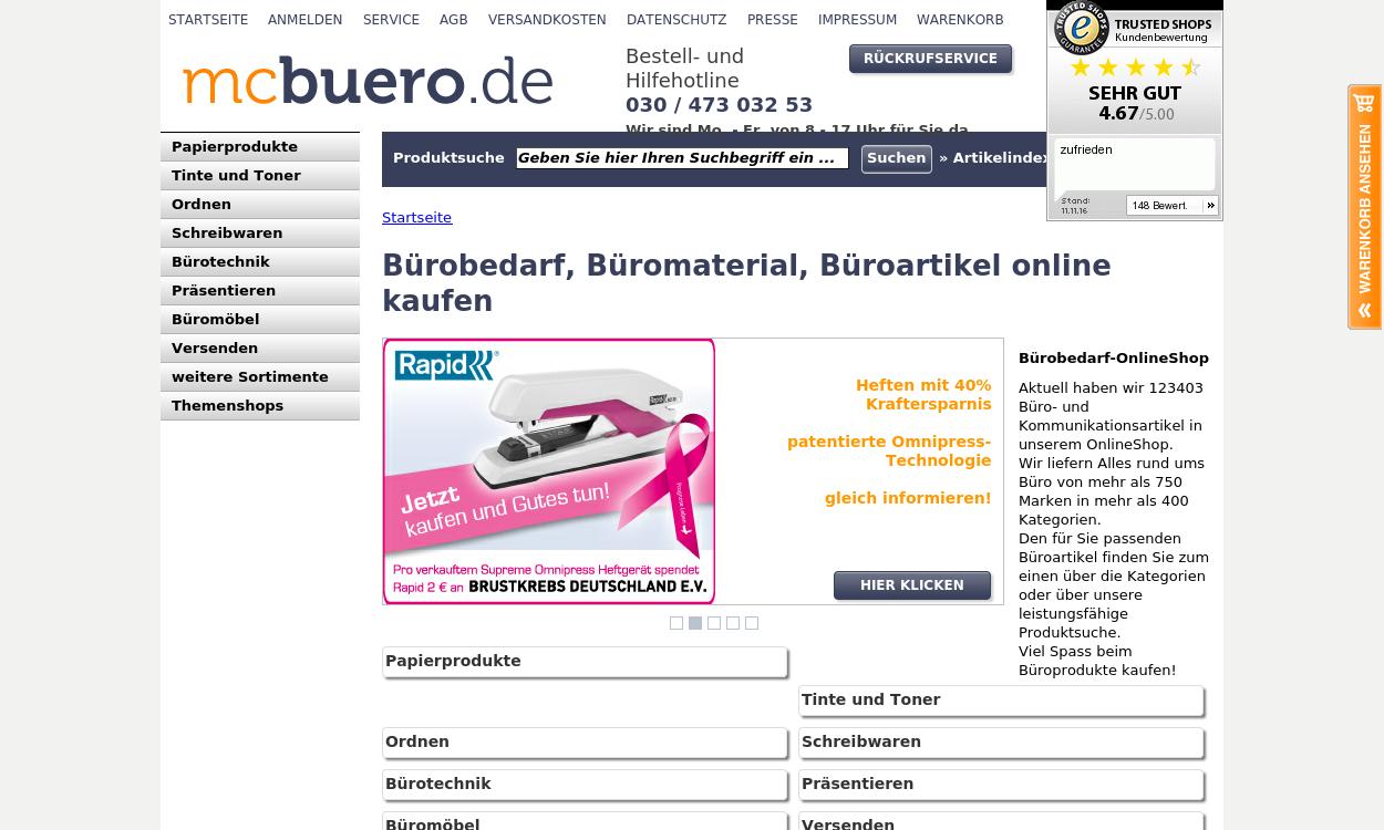 mcbuero - Bürobedarf online kaufen