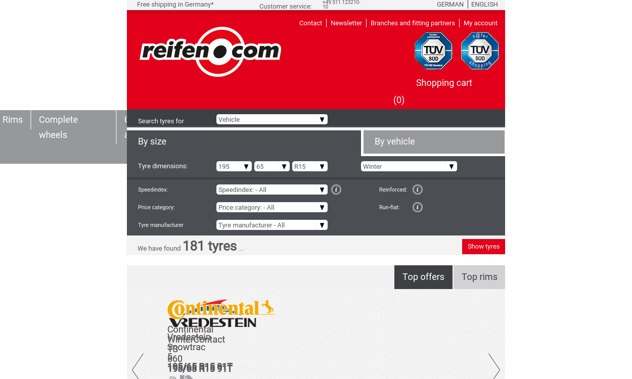 reifen.com - Markenreifen richtig günstig!