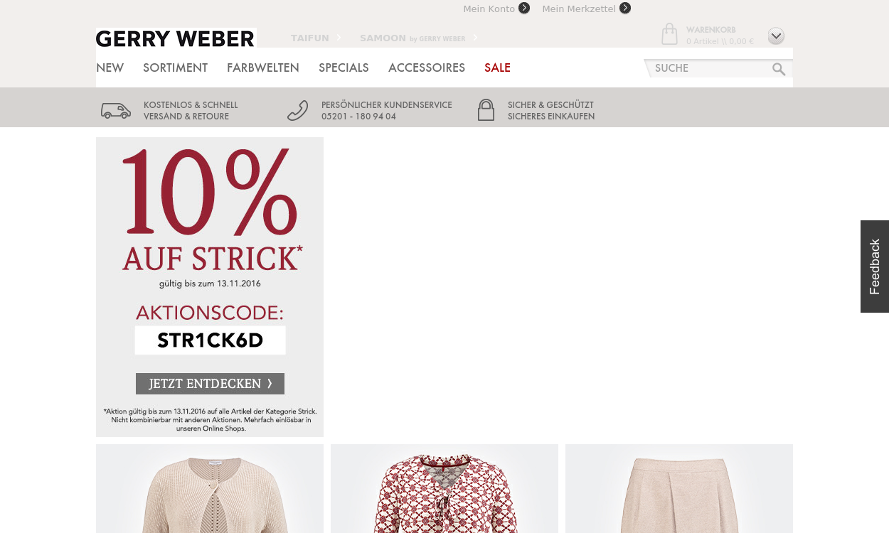 House of Gerry Weber DE