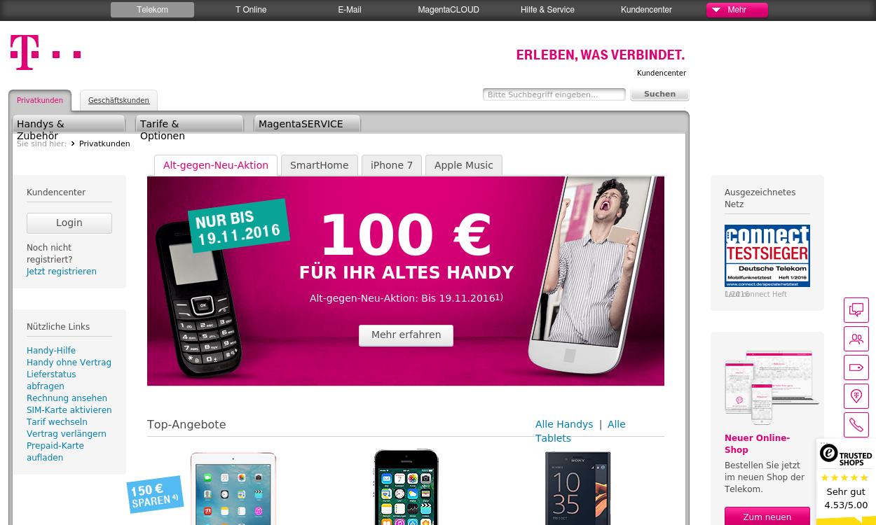Telekom Mobilfunk Partnerprogramm