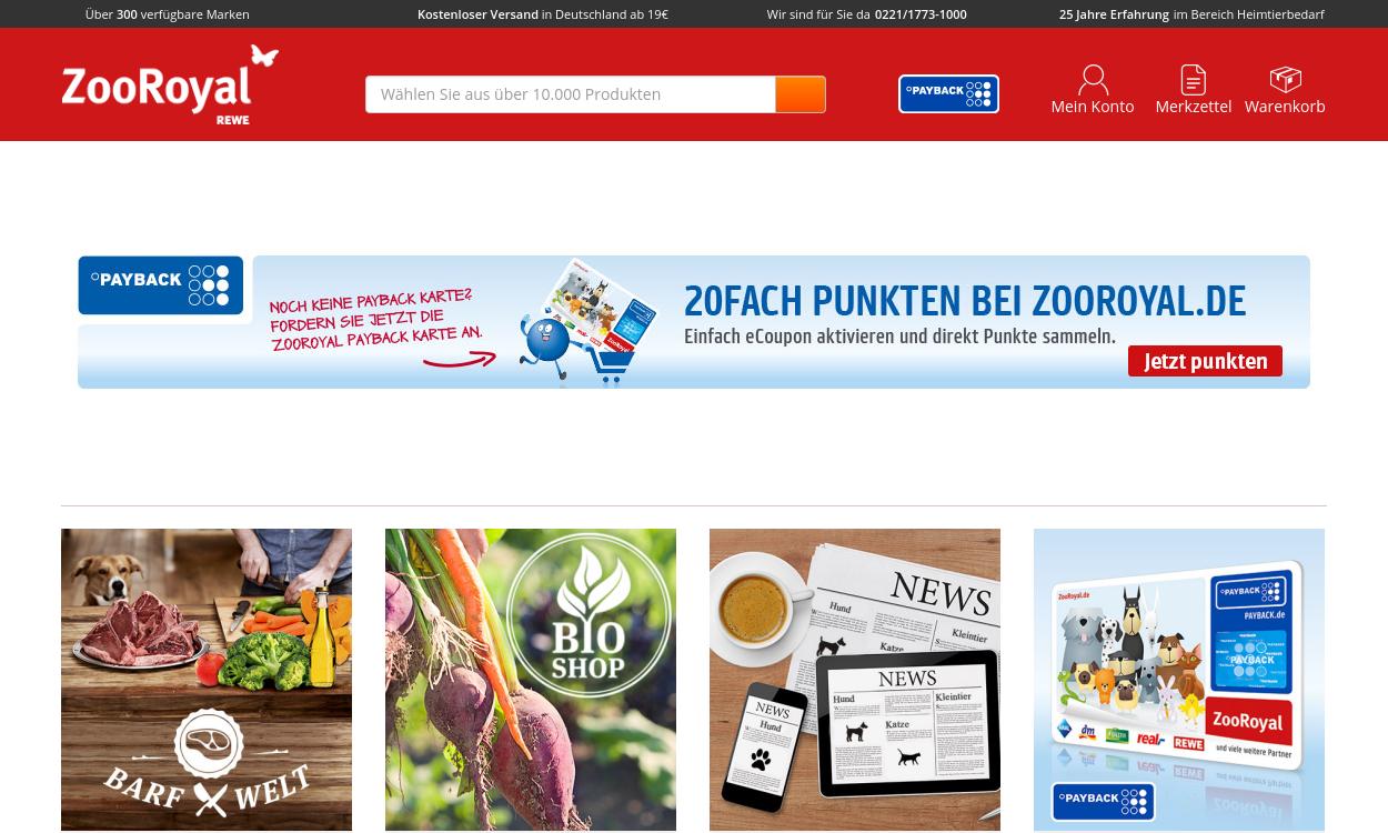 ZooRoyal - der Onlineshop für Dein Haustier