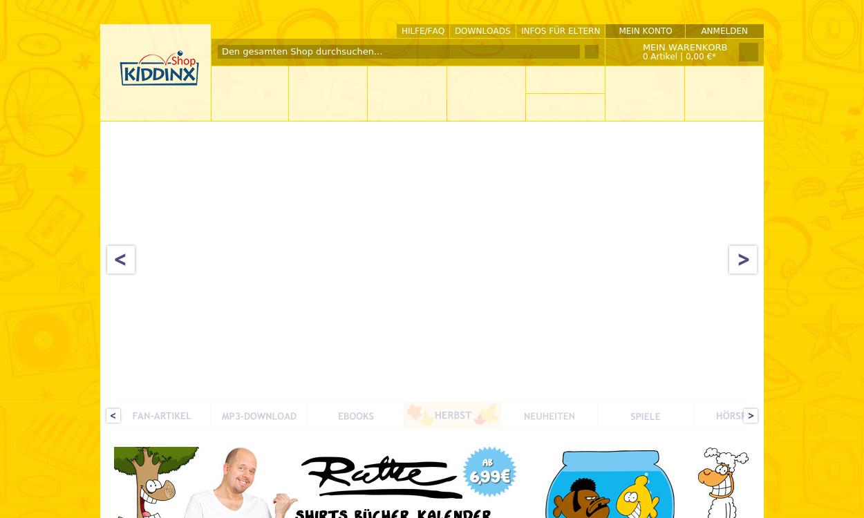 Kiddinx-Shop.de - Hörspiele für Kinder