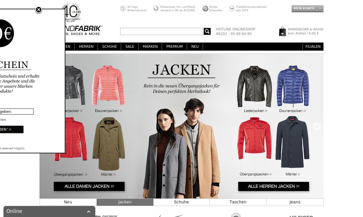 trendfabrik.de -  Multibrand Fashion Online Store
