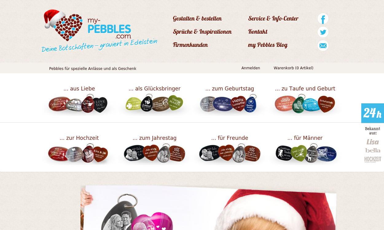 My-Pebbles.com - Personalisierte Edelsteine