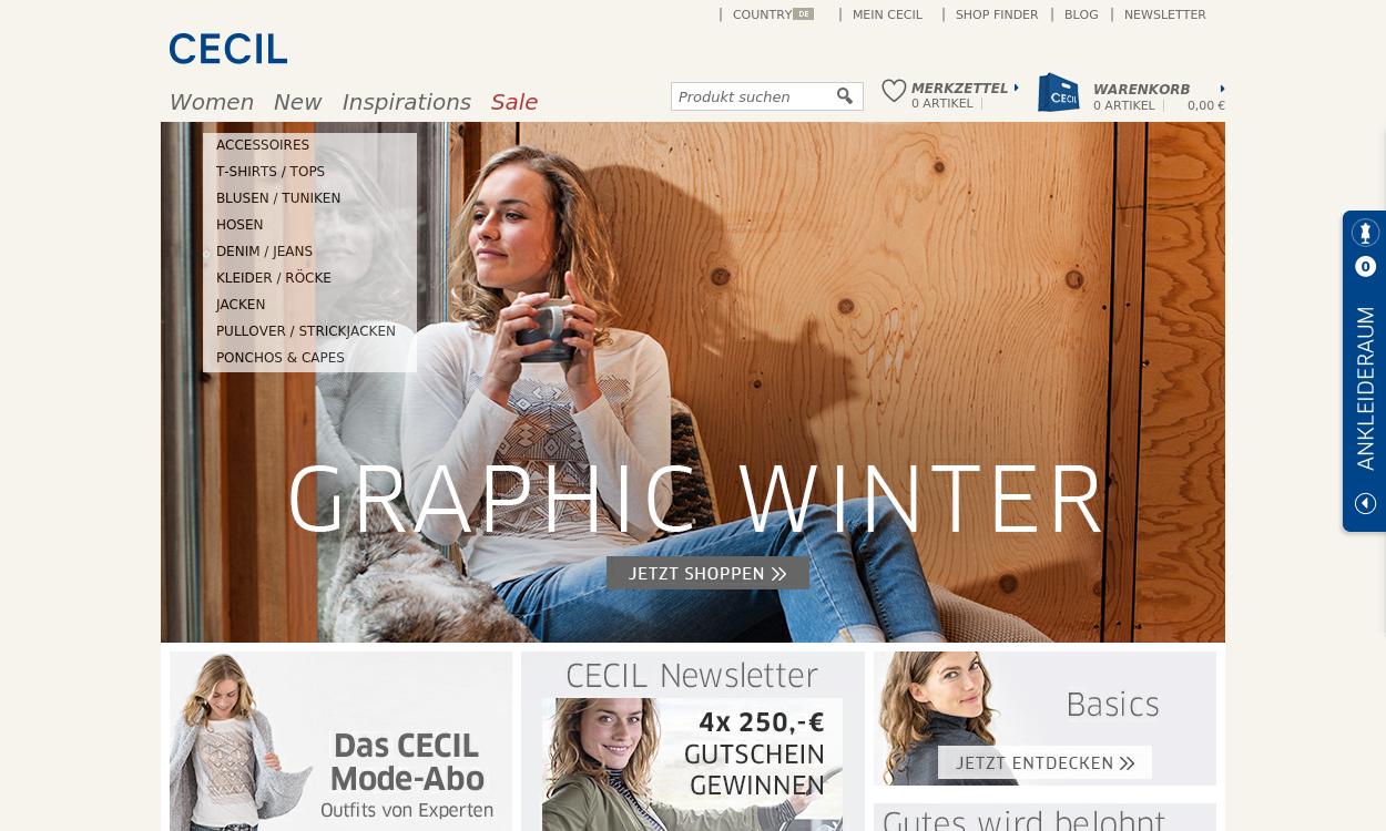 CECIL.de – Mode und Accessoires