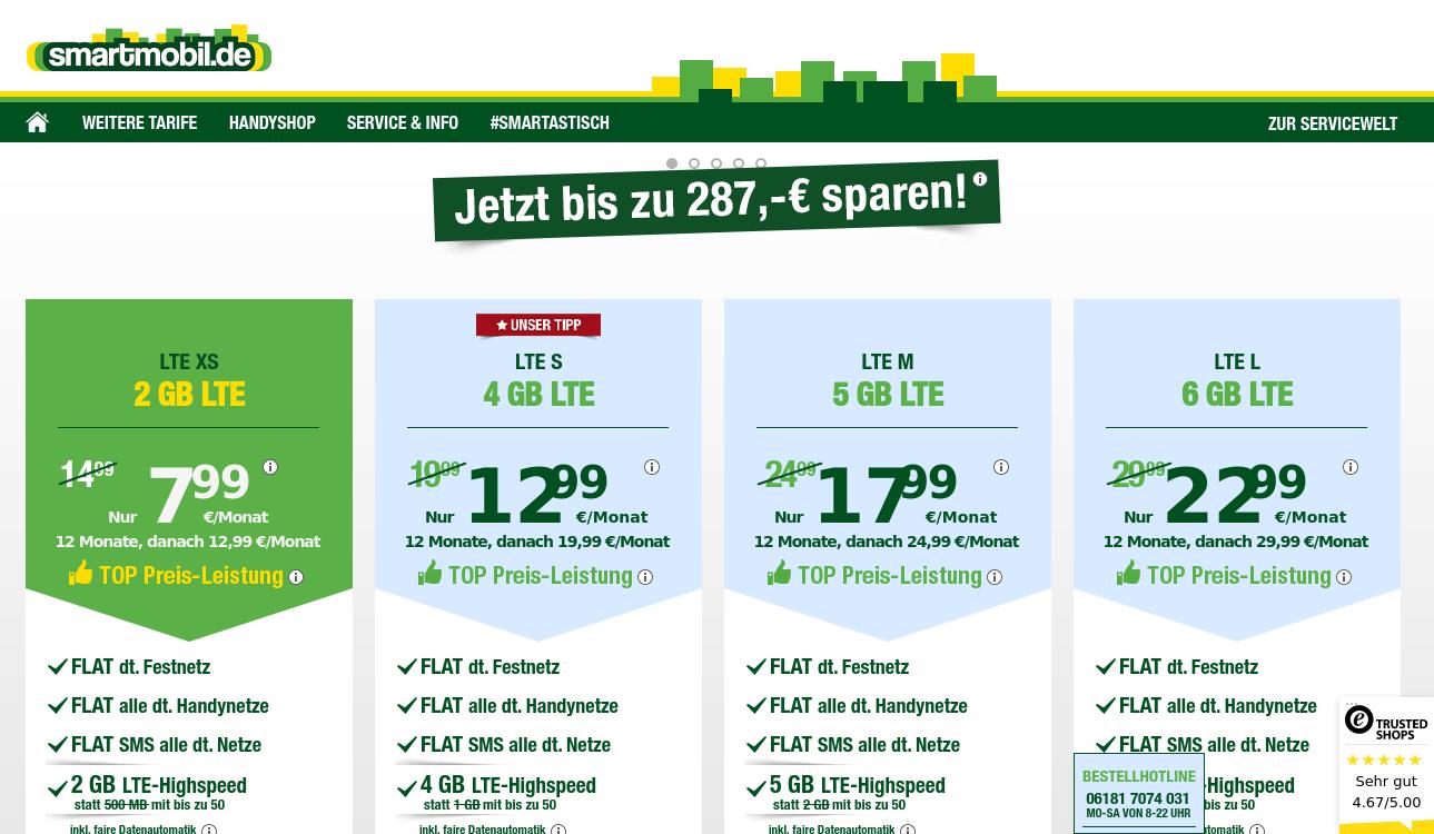 smartmobil.de – Wechsel dich smart!