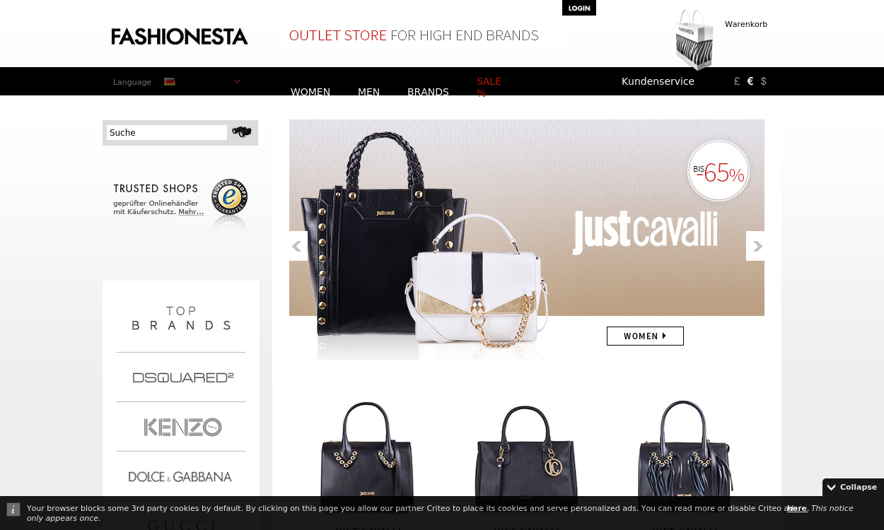 fashionesta.com - Designer Outlet Store