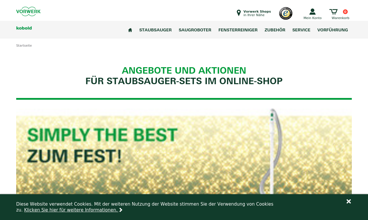 Vorwerk - Der Online Shop