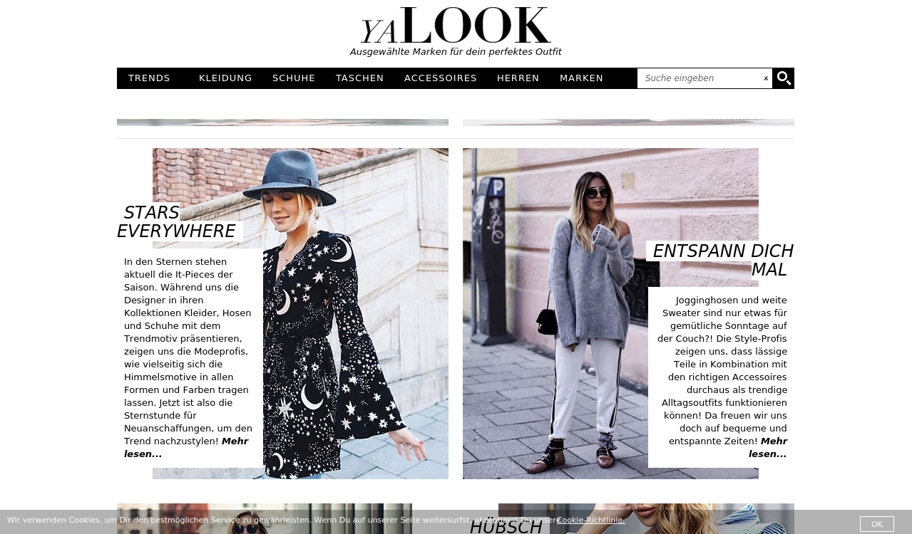 Fashion Brands auf Yalook