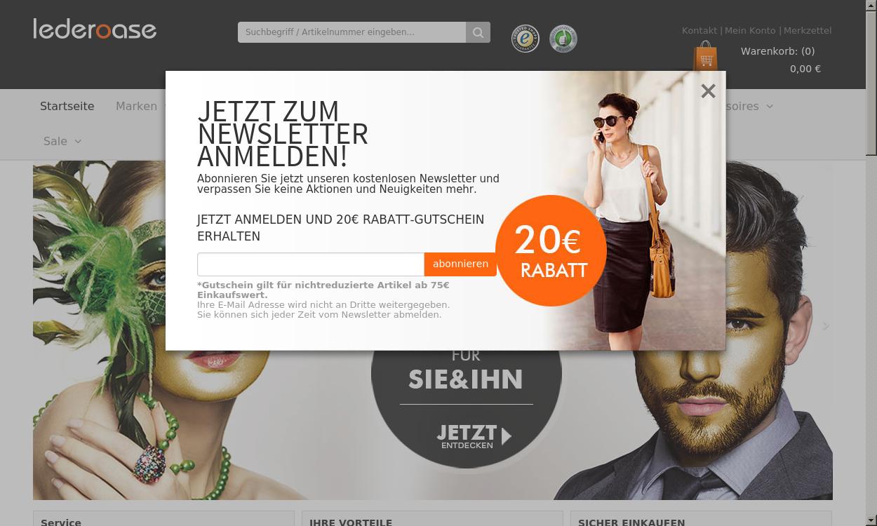 Lederoase.de - Moderne Taschen, Reisegepäck & Co.