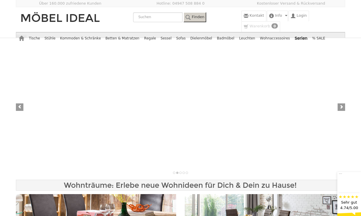 Möbel Ideal - Möbel online kaufen