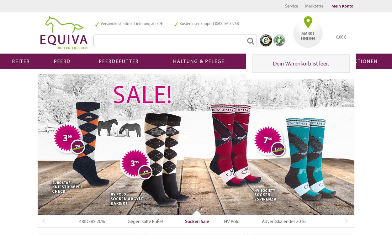 Equiva.de - Reitsportartikel und Reitbekleidung